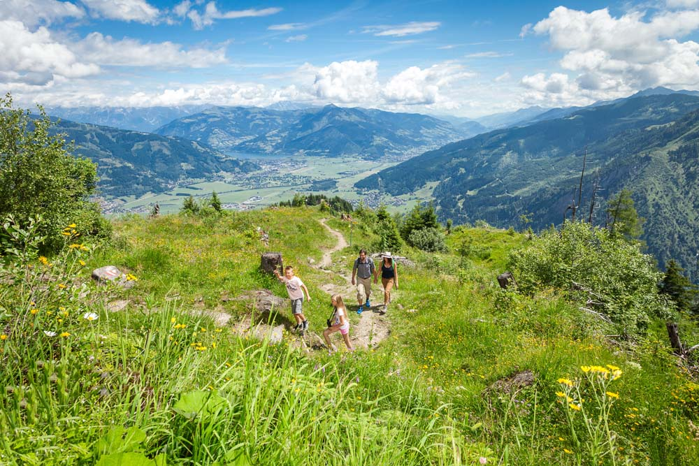 Wandern Appartement Zell am See